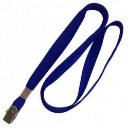 Cordão  Azul Royal - Terminal Jacaré - (Pacote com 25 Unidades)