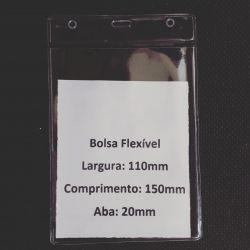 BOLSA PARA CREDENCIAL PVC  CRISTAL 0.20    110MMx150MM   VERTICAL