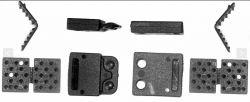Trava De Segurança De 20mm ( Pacote 50 Unidades)